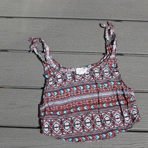 PacSun patterned tank top